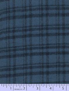 R09J333-0110 Primo Plaid Blue 100% cotton flannel