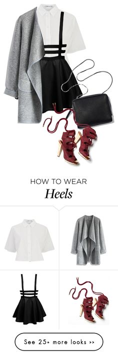"""""""Bad Blood (via mobile phone)"""" by shandra37 on Polyvore featuring T By Alexander Wang, Chicwish, Derek Lam, StreetStyle, simple, trending and officewear"""