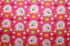 ******* I love monster **** pink      Also bei diesem süßen Anblick kann man garnix anderes sagen, oder ??    Sooooooooosüß diese kleinen Dingerchen.    Ein wunderschöner BIO-Stretchjersey , was kann man damit alles machen !!!!!!!!!!!!!!    Nach dem Design ** Schönes von Emilu ** alle Rechte vorbehalten      Breite 1,40m    95% Organic Cotton, 5% Lycra    Monster ca 3cm