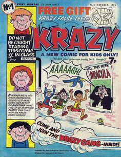 Krazy Comic #761016 - First Issue (comic book issue) - Comic Vine