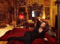 Sophia Loren by Annie Leibovitz for Vanity Fair March 2012.