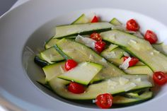Jessica's Favorite Zucchini Tomato Salad & other tasty recipes for your end of summer barbecue!