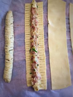 Small tuna braided puff pastry a family recipe Kristel s studio Breakfast For Kids, Healthy Breakfast Recipes, Salami Chips, Healthy Chicken Recipes, Cooking Recipes, Tapas, Football Food, Finger Foods, Family Meals