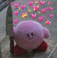 Pasta com muitíssimos memes para você rachar o bico ksksksk procure por Hy Cartoon Icons, Cartoon Memes, Cat Memes, Funny Memes, Meme Meme, Sapo Meme, Memes Lindos, Kirby Memes, Heart Meme