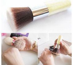 buytra Utility Fashion Bamboo Handle Brush beauty Makeup Tool foundation Powder Brushes Condition: 100% Brand new  Soft, cruelty-free bristles  Natural amp