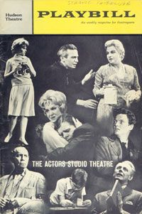 Strange Interlude by Eugene O'Neill   THE ACTORS STUDIO THEATRE, 1963