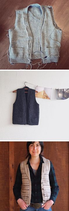 This little Anna Vest Knitalong has beenjust as low-key and casual as advertised, and I'm loving seeing some finished or nearly finished vests appearing on the interwebs. You can see them on…