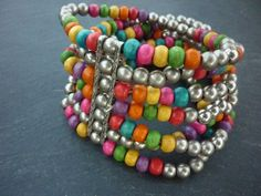 A personal favourite from my Etsy shop https://www.etsy.com/uk/listing/253477321/africa-bracelet