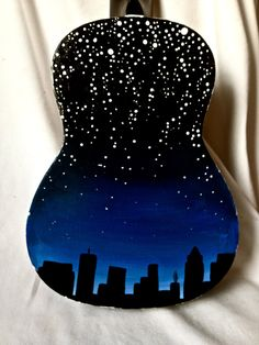 Love all the colors incorporated into this one uke and it is based on one of my favorite songs!