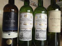 Bien regada estuvo la cosa... #vino #rioja