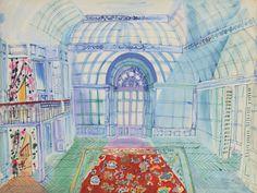 Raoul Dufy, La Veranda, stage set design