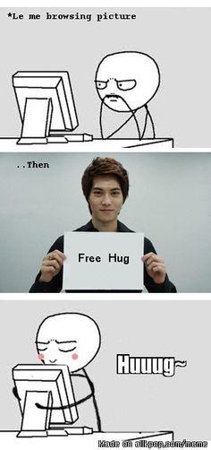 T.T .... free hug level international fans