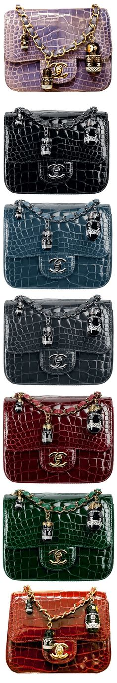 Chanel ~ Exoctic Matriochka Flap Bags