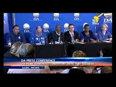 The Democratic Alliance elected Mmusi Maimane as leader, making him the first black leader of the party. Mmusi Maimane succeeds Helen Zille' who has decided . Democratic Alliance, Black Leaders, Conference, Videos, Youtube, Youtubers, Youtube Movies
