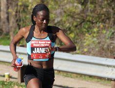 The Athlete: Janet Cherobon-Bawcom - Kenyan-born marathon runner