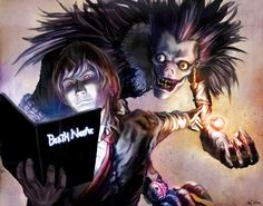 death note art - Google Search