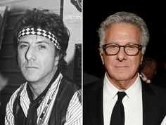 Actors of the '80s: Then and now Dustin Hoffman 1986-2015