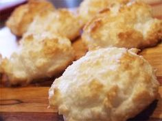 Sugar Free, Low Fat Coconut Macaroons