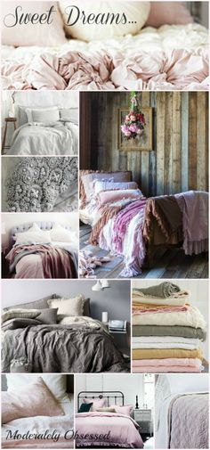 Sweet Dreaming Collage via ModeratelyObsessed