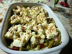 SPLENDID LOW-CARBING BY JENNIFER ELOFF: Green Bean and Bacon Salad (GF)