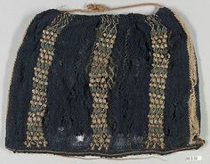 The Metropolitan Museum Mobile - Art Object - sprang with embroidery