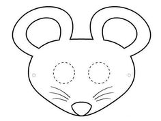 Spring printables beaver mask printables spoonful animal unit four free printable mouse masks to craft into wearable paper masks maxwellsz
