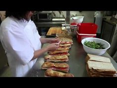 [Boulangerie Cozic] Les sandwichs - YouTube