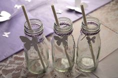 Modern Butterfly Meadow Birthday Party Ideas | Photo 12 of 14 | Catch My Party