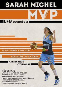 Sarah Michel - MVP Française - LFB Journée #16