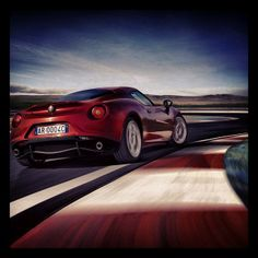 Alfa Romeo 4C elected 'Most Beautiful Car of the Year 2013' in France!
