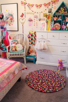 Unicorn Bedroom Ideas Kid Rooms Diy New islas Bedroom Rainbow Circus theme Bright Colours Liberty Print Unicorn Rooms, Unicorn Bedroom, Unicorn Doll, Unicorn Decor, Unicorn Kids, Baby Boy Rooms, Little Girl Rooms, Kids Rooms, Girls Bedroom