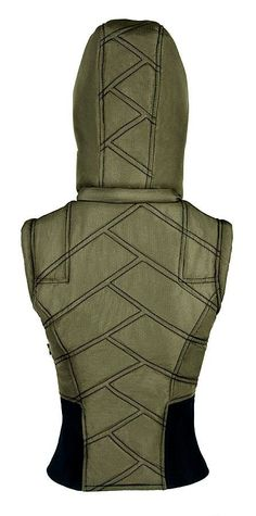 This Hooded Vest Looks Like It Was Made For Time Traveling Warriors