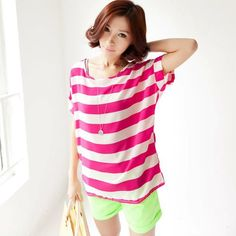 d7494f3fee Online Fashion Shopping Store for Batwing Sleeve Chiffon Top