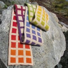 Lucy Neatby Paintbox DK Scarf Knitting Pattern