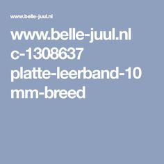 www.belle-juul.nl c-1308637 platte-leerband-10mm-breed