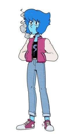 Steven Universe Anime, Steven Universe Pictures, Steven Universe Wallpaper, Greg Universe, Universe Art, Anime Character Drawing, Cute Anime Character, Lapis And Peridot, Lapis Lazuli