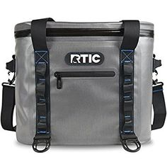 HOLDS ICE FOR 5 DAYS! RTIC 30 Soft Pack - click image to buy on amazon.  hold 30 cans plus ice. It holds other things as well. Comes in 4 sizes. Lunch box - 40 cans.