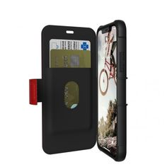 Keep it simple with a slim, lightweight, rugged folio iPhone Xs / iPhone X case with credit card storage by Urban Armor Gear. Available in 3 vibrant colors. Keep your iPhone Xs / iPhone X protected with a UAG case now! Urban Armor, Laptop Shop, Card Storage, For Sale Sign, Mobile Accessories, Home Automation, Screen Protector, Iphone Cases, Samsung Galaxy