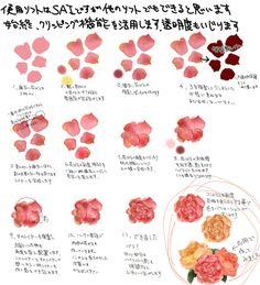 【講座】薔薇畫法特輯【繪製過程】 - pixiv Spotlight