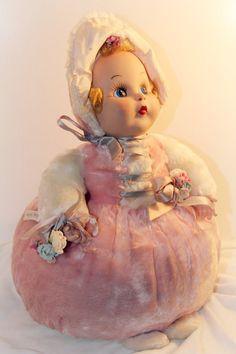 Rushton Vintage Rubber face Little Bo Peep by DollsAndGoodies, $148.00