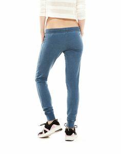 Bershka Cyprus - BSK coloured velour trousers