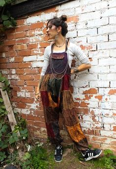 Buy & sell new, pre-owned & vintage fashion Look Hippie Chic, Looks Hippie, Look Boho, Hippie Outfits, Grunge Outfits, Casual Outfits, Cute Outfits, Hippie Style Clothing, Gypsy Clothing