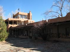 Mabel Dodge Luhan House by trobertabq, via Flickr
