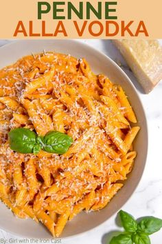 This homemade made from scratch penne alla vodka will be your new favorite pasta sauce. Easy, flavorful, and perfect for pasta night with the family #penneallavodka #vodkasauce #allavodka #pastasauce #pasta #homemade #pastarecipe Vodka Sauce Pasta, Penne Alla Vodka, Pasta Recipes, Dinner Recipes, Tortellini Recipes, Rice Recipes, Recipies, Pasta Dinners, Recipes
