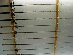 Rod Rack Fishing Rods And Fishing Rod Rack On Pinterest