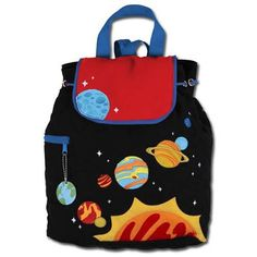 Space Childrens Backpacks - Personalisable