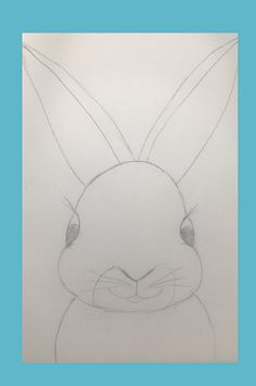 Learn to draw a bunny with this easy art tutorial video. A great art activity to do with kids at home for Easter. Easy Art, Simple Art, Bunny Painting, Drawing Lessons, Activities To Do, Learn To Draw, Kids House, Easter Crafts, Art Tutorials