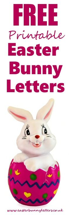 This Printable Letter From The Easter Bunny Is Intended For