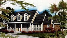 Eplans Country House Plan - Vintage Americana - 2615 Square Feet and 4 Bedrooms from Eplans - House Plan Code HWEPL01172