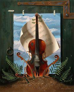 The Old Violin by Jeffrey G. Batchelor - 2015